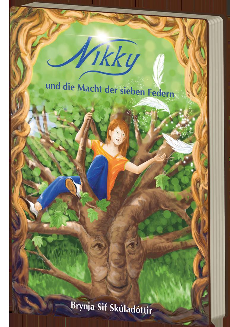 Buchumschlag: Nikky und die Macht der sieben Federn